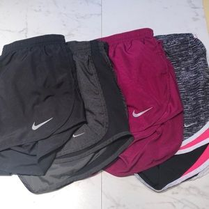 NIKE. dry fit running shorts